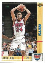 1991-92 Upper Deck-#264--Reggie Theus-Nets-Guard - $3.96