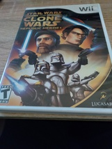 Nintendo Wii Star Wars: The Clone Wars: Republic Heroes image 1