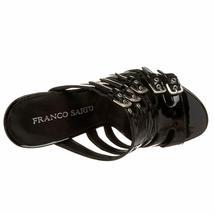 Franco Sarto Asset Patent Leather Strappy Slide Buckle Heels Sandals Shoes 6.5 image 6