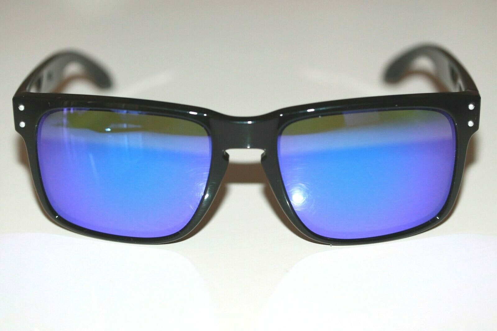 b20c7442ee148 Custom Oakley Holbrook Sunglasses Polished Black Ink W  Violet Iridium Lens