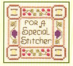 Special Stitcher SC05 mini cross stitch chart Elizabeth's Designs  - $4.00