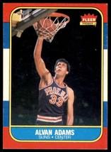 1986-87 Fleer Basketball Premier Alvan Adams Phoenix Suns #2 - $0.50