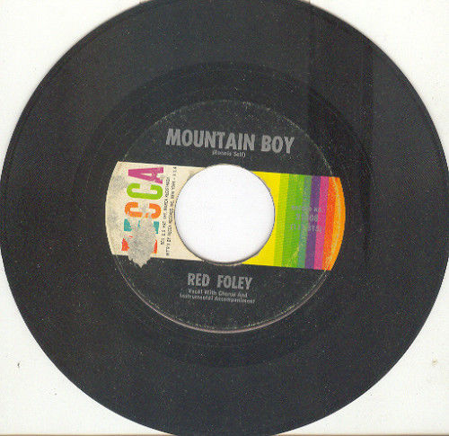 Red foley mountain boy