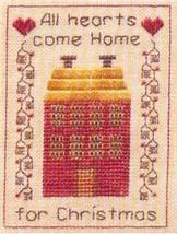 All Hearts SC08 mini cross stitch chart Elizabeth's Designs  - $4.00
