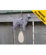 Irish Wolfhound Deluxe crate tag art, hang anyw... - $29.00