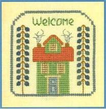 Grow Old SC11 mini cross stitch chart Elizabeth's Designs  - $4.00