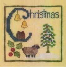 C is for Christmas SC15 mini cross stitch chart Elizabeth's Designs  - $4.00