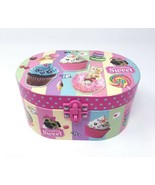 302SC P Scented Oval Musical Jewelry Box, Sweet Crush - $16.92