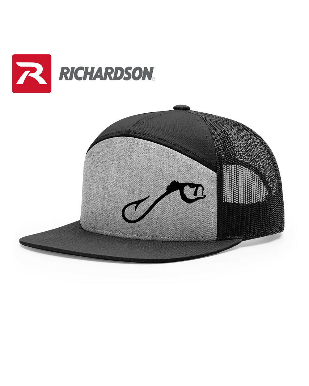 Primary image for FISH FISHERMAN HOOK RICHARDSON FLAT BILL SNAPBACK HAT * FREE SHIPPING in BOX*