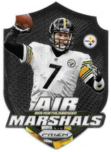 2014 Ben Roethlisberger Panini Prizm Air Marshals - Pittsburgh Steelers - $2.38