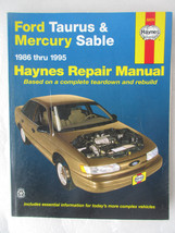 Haynes Car Repair Manual 36074 Ford Taurus & Mercury Sable 1986 thru 1995 - $2.99