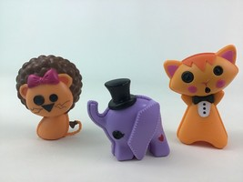 Lalaloopsy Elephant Lion Cat Doll Pet 3pc Lot Toy Accessory MGA Replacement - $15.99