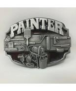 VTG Siskiyou Painters Painting Tools Belt Buckle Paint Profession House  - $44.54