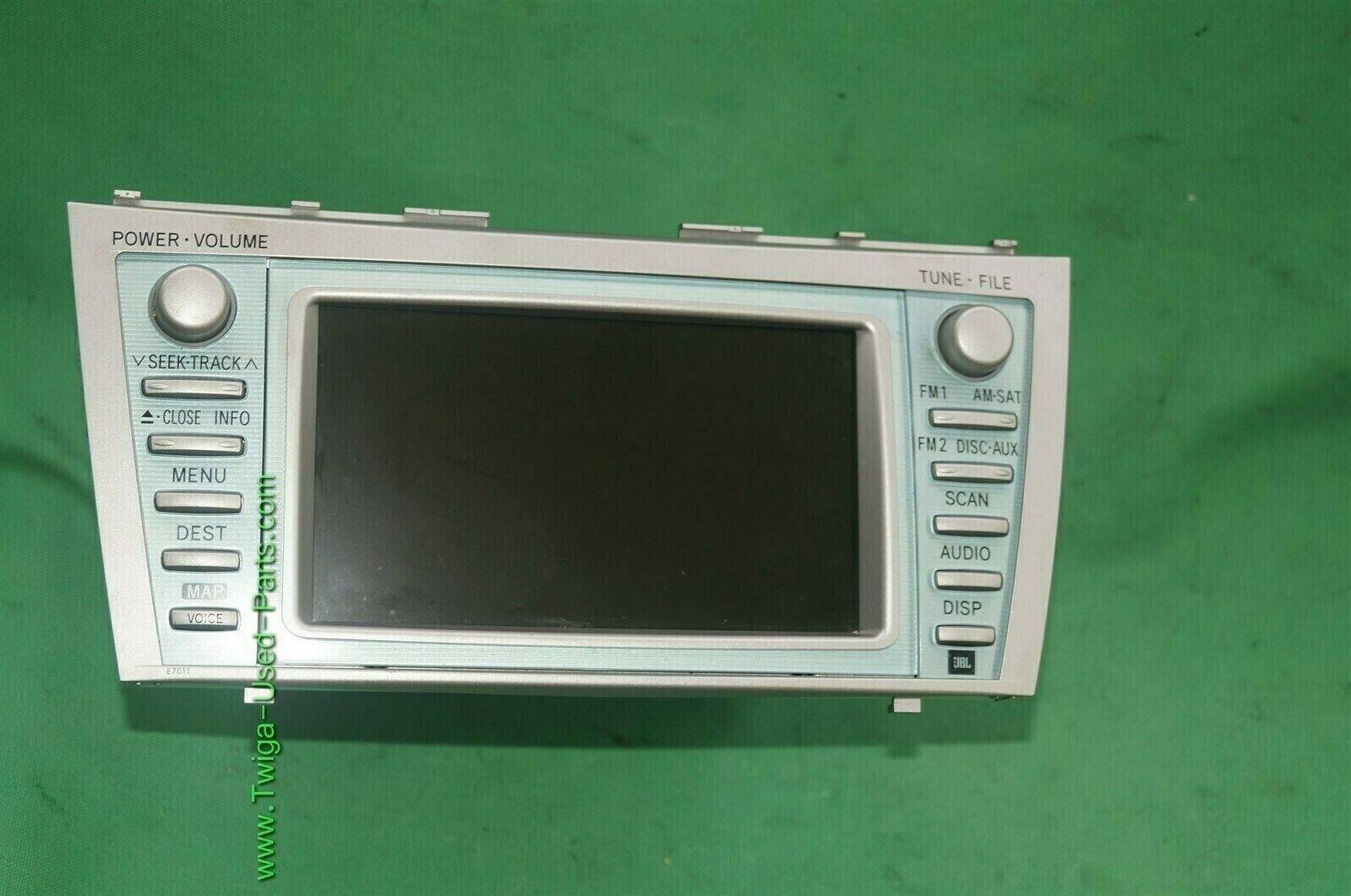 07 08 09 Toyota Camry Hybrid Denso Navigation CD Player Radio 86120-06460