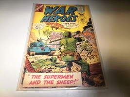 L8 Charlton Comic War Heroes Issue #22 January 1967 In Fair Condition In Bag - $3.47