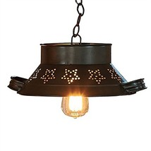 Park Designs Colander 4.25 Inches x 13 Inches x 10.75 Inches Iron Pendant Light