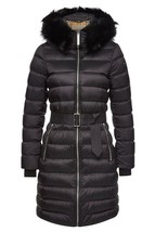 NEW BURBERRY CURRENT LIMEHOUSE BLACK DETACH SHEARLING DOWN-FILLED PUFFER... - $1,245.24
