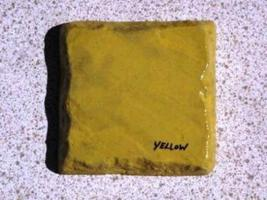 115-05 YELLOW CONCRETE CEMENT COLOR, 5 LBS. MAKE STONE, PAVERS, TILE, BRICK  image 4
