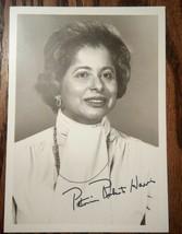 Ambassador, HUD Secretary ~ Patricia Roberts Harris Signed Photograph & ... - $95.00