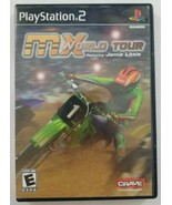 MX World Tour PS2 Game 2005 Crave Entertainment Playstation 2 - $4.99