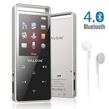 Valoin MP3 Player with Bluetooth 4.0,8G Lossless Sound Music Player - $46.22