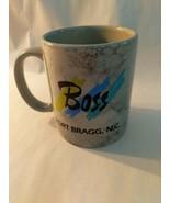 Boss Coffee Mug Fort Bragg N.C. - $9.85