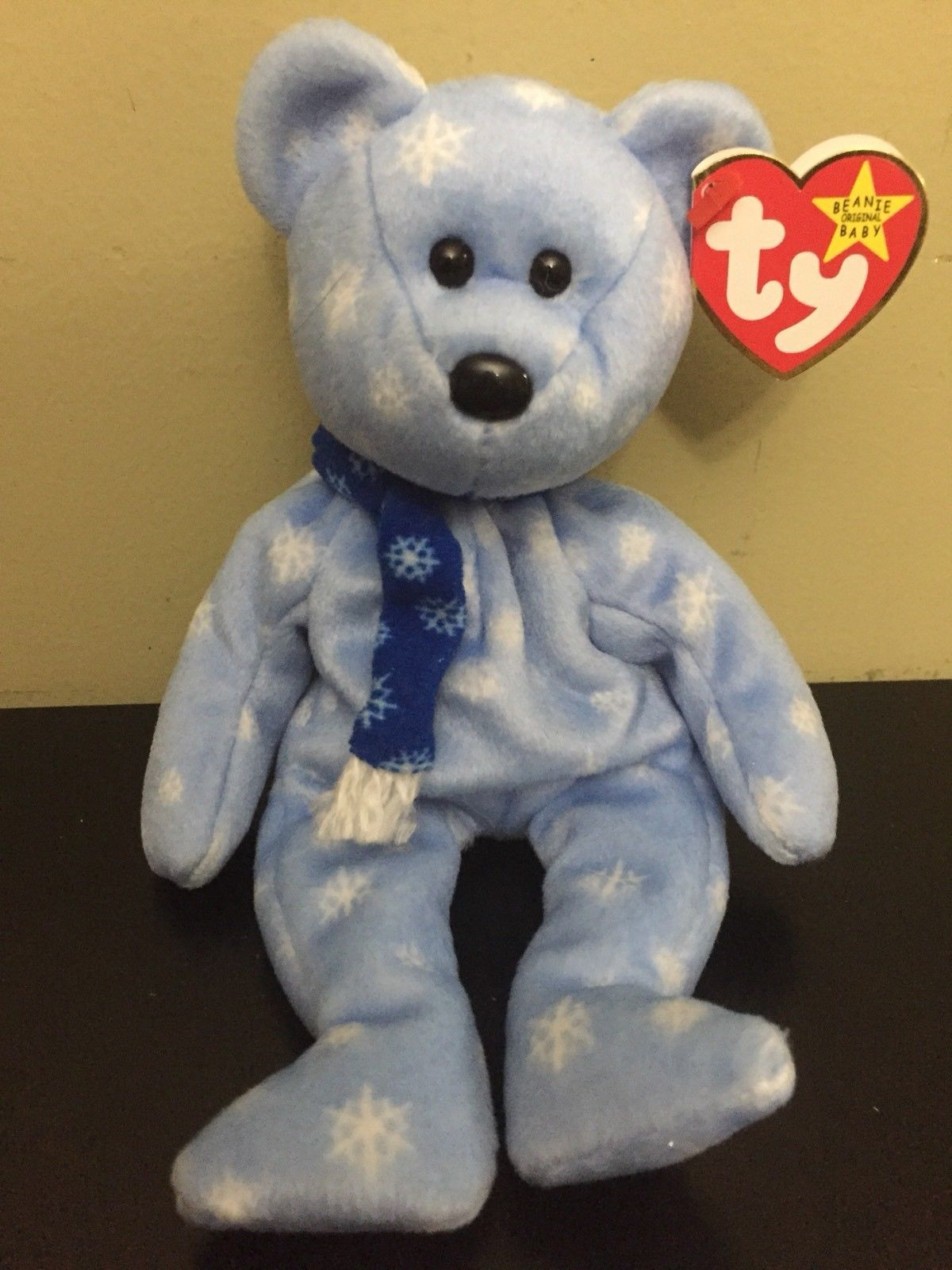 abbee14a67a Ty Beanie Baby 1999 Holiday Teddy Bear Blue and 50 similar items. S l1600