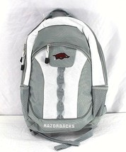 Arkansas Razorbacks Backpack Gray/White - $34.99