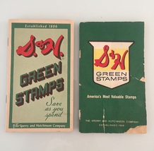 Vintage 50s S&H Green Stamps books
