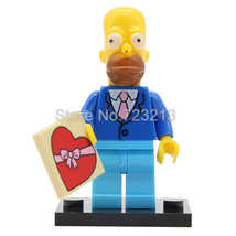 Homer Simpson The Simpsons cartoon Minifigures Block Toy Gift - $1.99