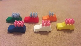 Hasbro LIFE board game Replacement pieces parts 6 CARS 33 PEGS - $7.69