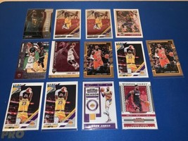 2017-20 Panini Lebron James Investor Lot 13- Prizm, Contenders, Optic, N... - $42.74
