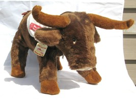 "Merrill Lynch Realty Bull Large Plush 1981 11"" - $49.49"