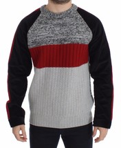 Dolce & Gabbana Knitted Wool Cashmere Crewneck Sweater Pullover - $281.20