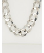 14k White Gold Cuban Link Chain Necklace - $4,833.99
