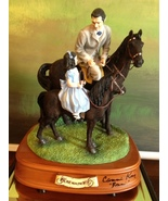 San Francisco Music Box Co-Signed Rhett &Bonnie Riding Lesson Gone With the Wind - $750.00