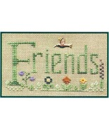 Friends K002 cross stitch kit Elizabeth's Designs  - $13.50