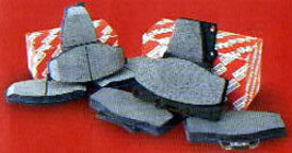 Toyota Tacoma 1999-2004 OEM FRONT Brake Pads 4x2 Only - $39.00
