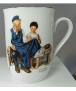 """1982 Norman Rockwell Museum Coffee Cup Mug Lighthouse Keeper's Daughter 4"""" - $7.84"""