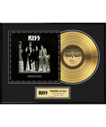 """KISS - """"Dressed to Kill"""" Framed 18""""x 24"""" 24k Gold LP - Limited Edition 2... - $214.95"""