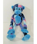Fiesta Plush Galaxy space monkey long hanging arms legs blue purple pink  - $9.89