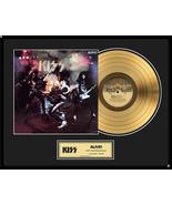 """KISS - """"Alive!"""" Framed 18""""x 24"""" 24k Gold LP - Limited Edition 2,500 - $214.95"""