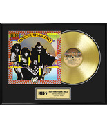 """KISS - """"Hotter Than Hell"""" Framed 18""""x 24"""" 24k Gold LP - Limited Edition ... - $214.95"""