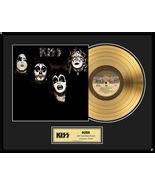 "KISS - ""KISS"" Framed 18""x 24"" 24k Gold LP - Limited Edition 2,500 - $214.95"