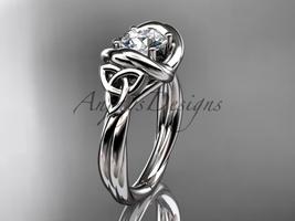 Platinum trinity celtic twisted rope wedding ring RPCT9146 - $1,625.00