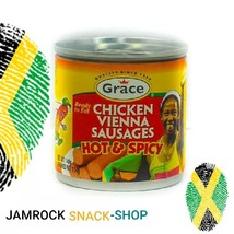 4TINS OF GRACE CHICKEN VIENNA  SAUSAGES(HOT AND SPICY) - $18.00