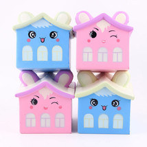 New Soft Squishy Cute Bear House Slow Rising Squeeze Kids Toy Collection Gift - $6.36