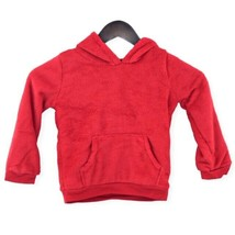 Carters Kid Size 4T Holiday Fleece Pullover Front Pockets Hoodies - Red ... - $18.80