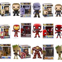 Avengers Infinity War Funko POP Figure Model Toy Thanos Iron Man Deadpoo... - $23.63+