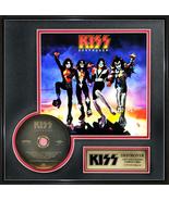 """KISS - """"Destroyer"""" Framed 14"""" x 14"""" 24k Gold CD - $174.99"""